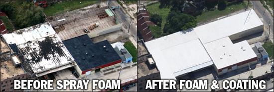 Spray Foam Is Good For Your Environment   Inside...and Out